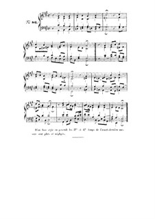 Choix de chorals: Choral No.86 by Johann Sebastian Bach