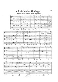 Secular Works: Latin Songs by Heinrich Isaac