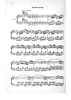 Le domino noir (The Black Domino): Act II, piano-vocal score by Daniel Auber