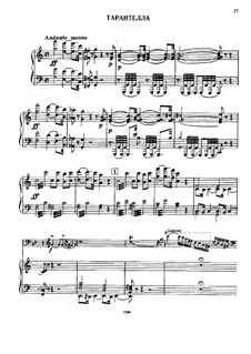 Tarantella for Double Bass and Piano: Tarantella for Double Bass and Piano by Giovanni Bottesini