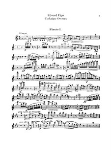 Cockaigne (In London Town), Op.40: Flutes parts by Edward Elgar