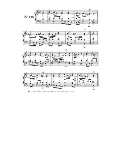 Choix de chorals: Choral No.116 by Johann Sebastian Bach