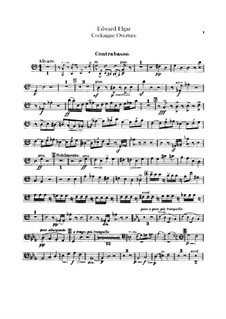 Cockaigne (In London Town), Op.40: Double bass part by Edward Elgar