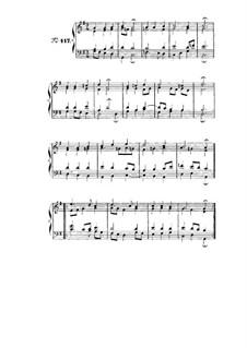 Choix de chorals: Choral No.117 by Johann Sebastian Bach