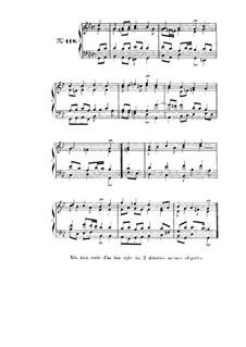 Choix de chorals: Choral No.118 by Johann Sebastian Bach