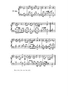 Choix de chorals: Choral No.119 by Johann Sebastian Bach