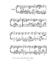 Choix de chorals: Choral No.121 by Johann Sebastian Bach