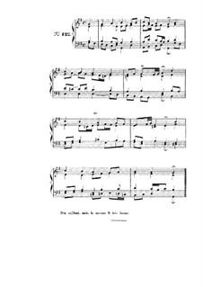 Choix de chorals: Choral No.122 by Johann Sebastian Bach