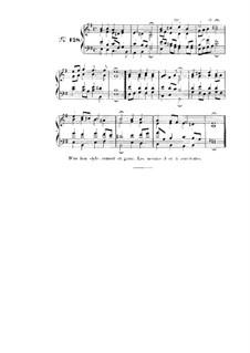 Choix de chorals: Choral No.128 by Johann Sebastian Bach