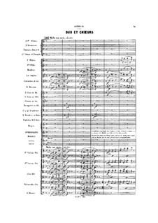Gwendoline: Act II, Scene II by Emmanuel Chabrier