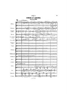 Gwendoline: Act I, Scene II by Emmanuel Chabrier