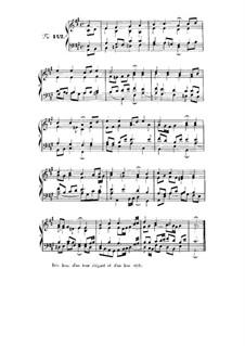 Choix de chorals: Choral No.142 by Johann Sebastian Bach