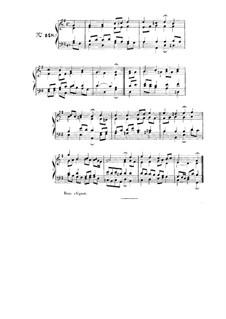 Choix de chorals: Choral No.148 by Johann Sebastian Bach