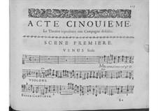 Hésione: Act V by André Campra