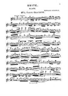 Suite for Flute and Piano: Solo part by Edward German