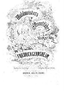 Waldmeisters Brautfahrt, Op.13: Waldmeisters Brautfahrt by Friedrich Gernsheim