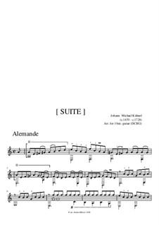 Suite: Complete set by Johann Michael Kühnel