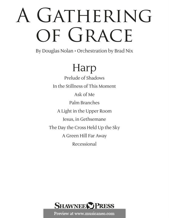 A Gathering of Grace: Harp part by Douglas Nolan