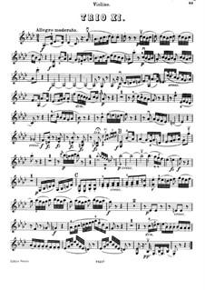 Piano Trio No.27 in A Flat Major, Hob.XV/14: Violin part by Joseph Haydn