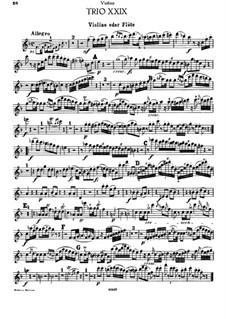 Piano Trio No.30 in F Major, Hob.XV/17: Violin or flute part by Joseph Haydn