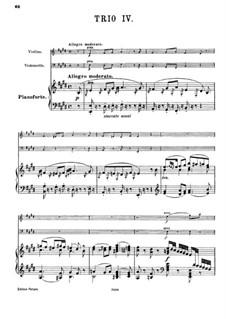 Piano Trio No.44 in E Major, Hob.XV/28: Full score by Joseph Haydn