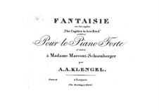 Fantasia on 'The Captive to His Bird' by G. Mazzinghi, Op.18: Fantasia on 'The Captive to His Bird' by G. Mazzinghi by August Alexander Klengel