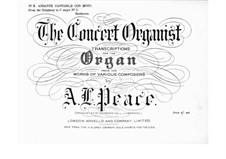 Fragments: Movement II, for organ by Ludwig van Beethoven