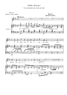 Florodora: No.24 He Loves Me - He Loves Me Not by Leslie Stuart