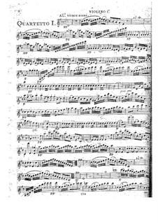 String Quartets, Op.52: Quartet No.2 in D Major, G.233 by Luigi Boccherini
