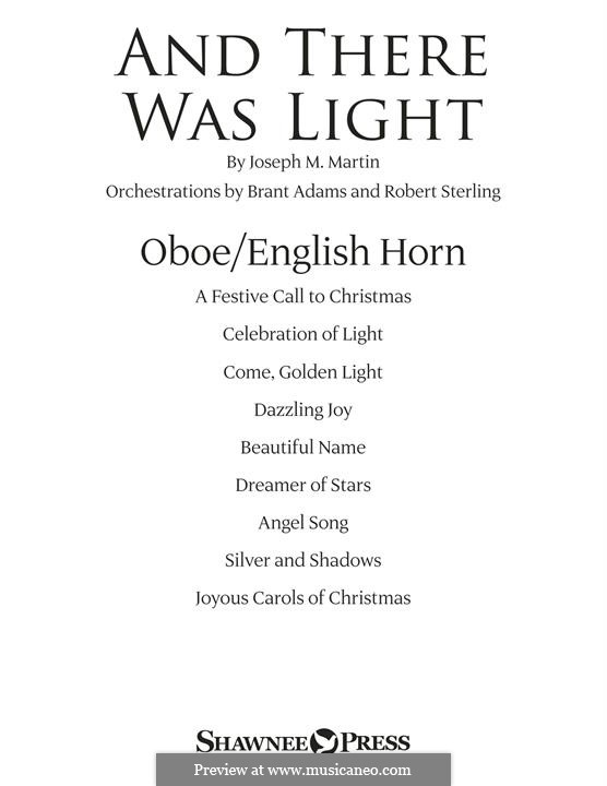 And There Was Light: Oboe/English Horn part by Joseph M. Martin