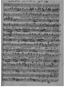 Grand Magnificat No.24: Grand Magnificat No.24 by Bernard Aymable Dupuy
