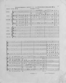 Misericordias Domini for Double Choir: No.1 in C Major by Francesco Durante