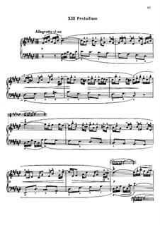 Selected Pieces: Part II (Edited by Mugellini) by Johann Sebastian Bach