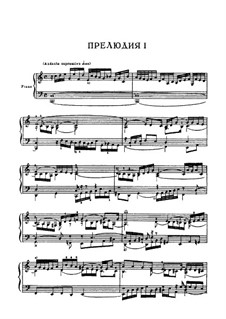 Selected Pieces: Part I by Johann Sebastian Bach