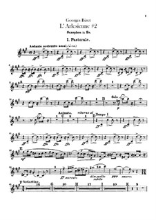 Suite II: Saxophone part by Georges Bizet