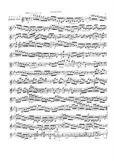 Three String Trios, Op.5: No.3 – parts by Alexandre Pierre François Boëly