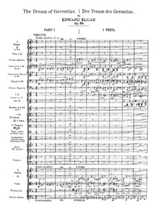 The Dream of Gerontius, Op.38: Movement I by Edward Elgar