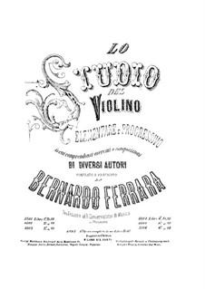 Elementary and Progressive Violin School: Complete set by Bernardo Ferrara