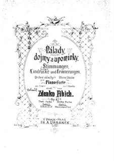 Book 1, Op.47 No.1-26: Book 1 by Zdeněk Fibich