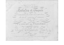 Selected Pieces: Part I (Early Edition) by Johann Sebastian Bach