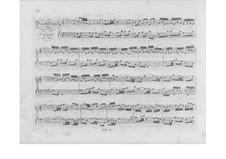 Selected Pieces: Part II (Early Edition) by Johann Sebastian Bach