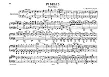 Overture: Version for two pianos eight hands – piano II part by Ludwig van Beethoven