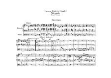 Complete Oratorio: Organ part by Georg Friedrich Händel