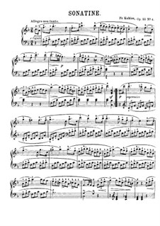 Six Sonatinas, Op.55: Sonatina No.4 by Friedrich Kuhlau