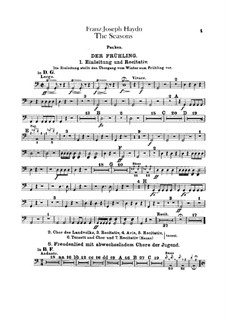The Seasons, Hob.XXI/3: Percussion parts by Joseph Haydn