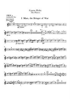 Complete Suite: Oboe III part by Gustav Holst
