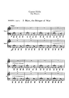 Complete Suite: Harps I-II part by Gustav Holst