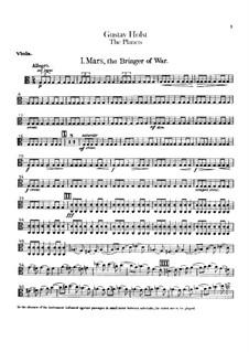Complete Suite: Violas part by Gustav Holst