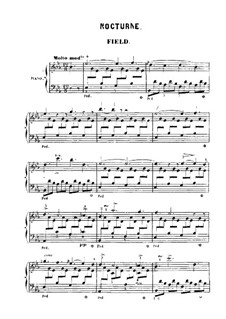 Nocturnes for Piano: Nocturne No.1 by John Field