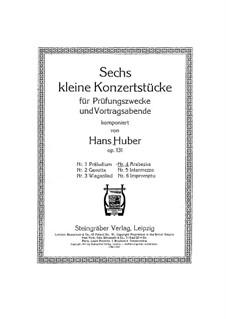 Six Little Concert Pieces, Op.131: No.4 Arabesque by Hans Huber